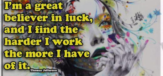 Believe In Luck