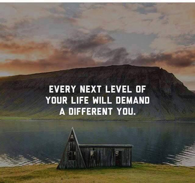 EVERY NEXT LEVEL OF YOUR LIFE | Quotes Area