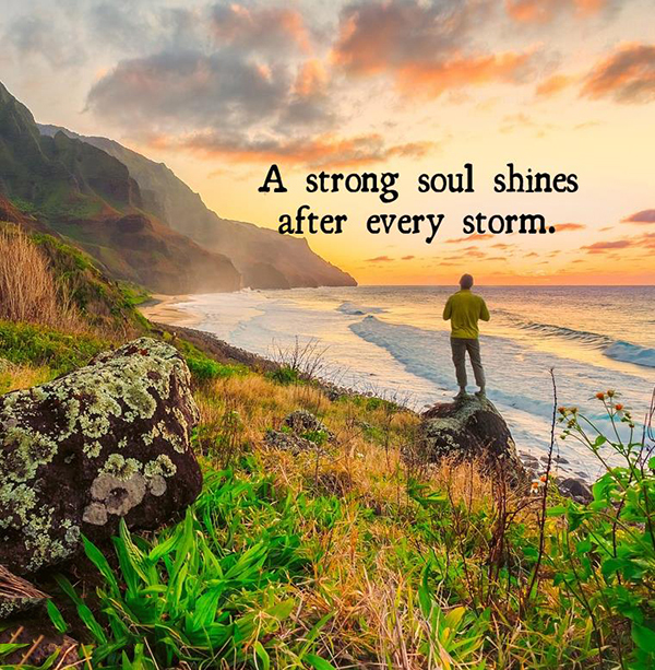A STRONG SOUL SHINES | Quotes ...