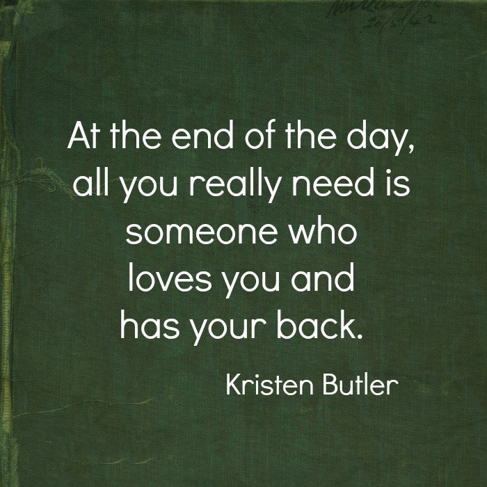 AT THE END OF THE DAY | Quotes Area