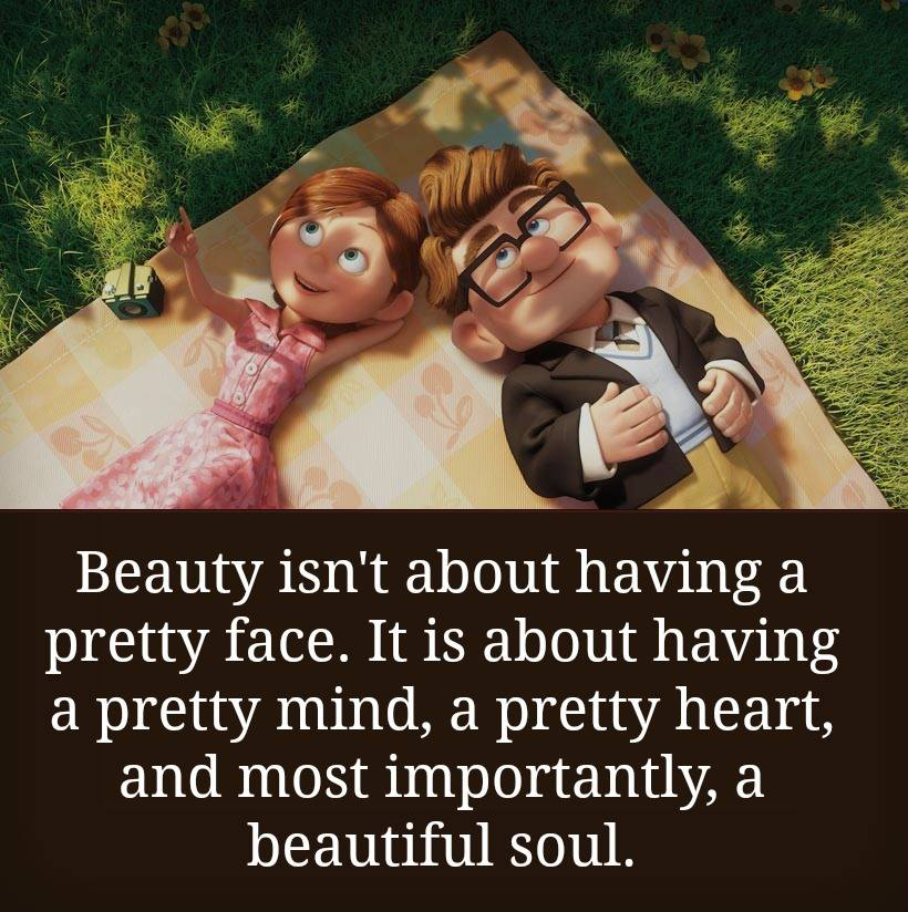 Beauty Is Not About Having A Pretty Face Quotes Area