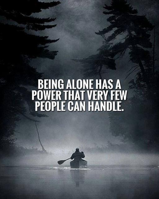Power Quotes   Being Alone Has A Power Quotes Area