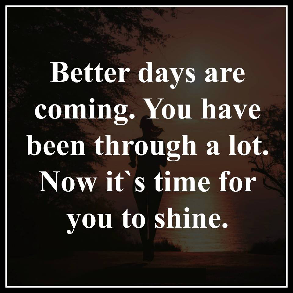 BETTER DAYS | Quotes Area