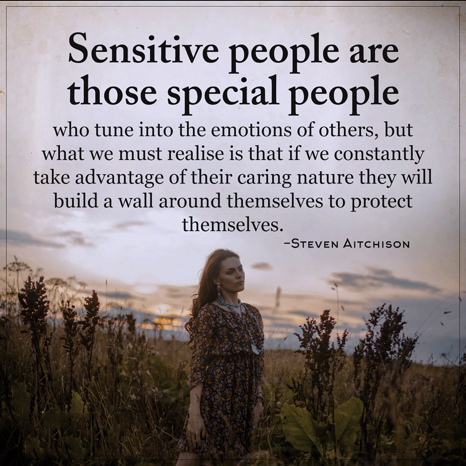 Special People Quotes SENSITIVE PEOPLE ARE THOSE SPECIAL PEOPLE | Quotes Area Special People Quotes